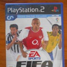 Videojuegos y Consolas: PS2 - FIFA FOOTBALL 2004 - PAL ESPAÑA - PLAYSTATION 2 (DN). Lote 156982374