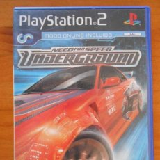 Videojuegos y Consolas: PS2 - NEED FOR SPEED UNDERGROUND - PAL ESPAÑA - PLAYSTATION 2 (DN). Lote 156982910