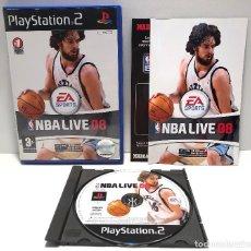 Videojuegos y Consolas: NBA LIVE 08 PLAYSTATION 2 PS2. Lote 157017078