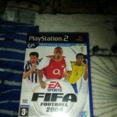 Videojuegos y Consolas: FIFA FOOTBALL 2004 PS2. Lote 157055002