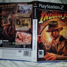 Videojogos e Consolas: PS2 PLAY STATION 2 INDIANA JONES Y EL CETRO DE LOS REYES PAL ESP. Lote 157717526