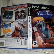 Videojuegos y Consolas: PS2 PLAY STATION 2 DISNEY PIXAR RATATOUILLE PAL ESP. Lote 157717722
