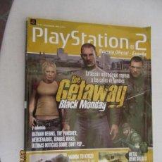 Videojuegos y Consolas: PLAYSTATION 2 REVISTA Nº 47 DICIEMBRE 2004 THE GETAWAY BLACK MONDAY. Lote 287822513