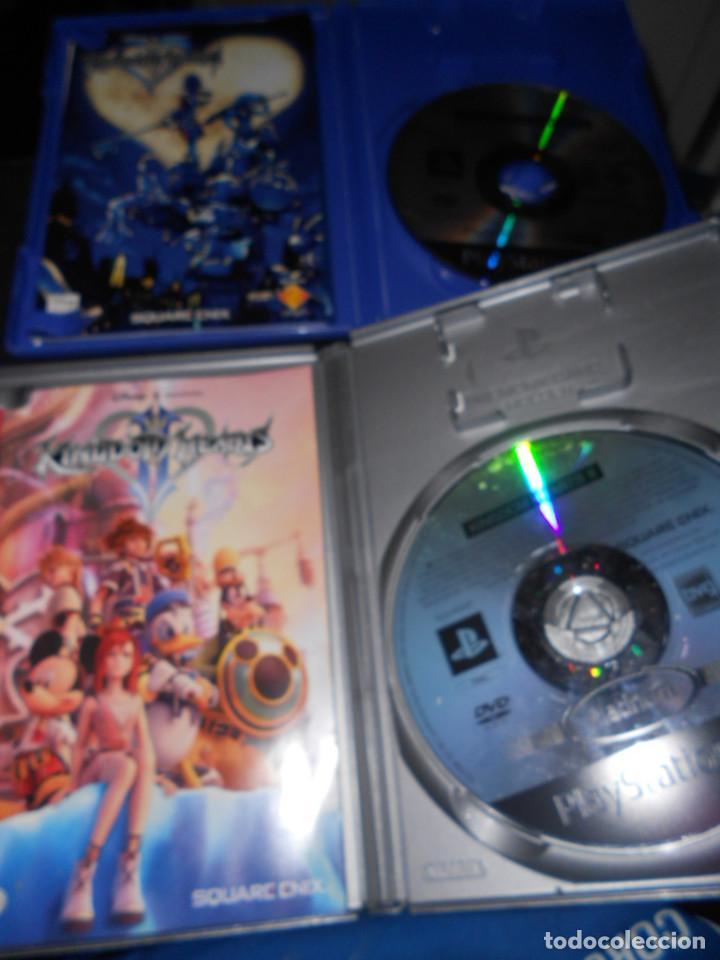Videojuegos y Consolas: juegos originales playstation 2 kindom hearts parte 1 y kindom hearts parte 2 - Foto 2 - 158971498