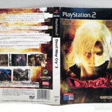 Videojuegos y Consolas: CARATULA DEVIL MAY CRY 2 PLAYSTATION 2 PS2. Lote 159182126