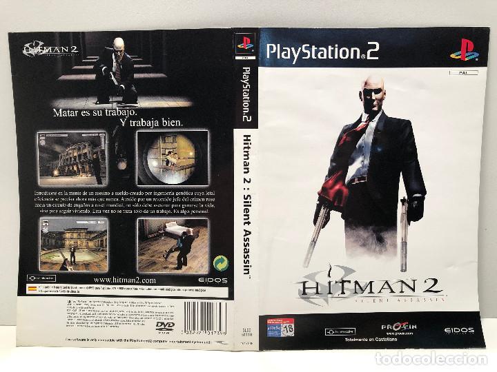 CARATULA HITMAN 2: SILENT ASSASSIN PLAYSTATION 2 PS2 (Juguetes - Videojuegos y Consolas - Sony - PS2)