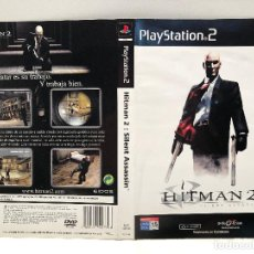 Videojuegos y Consolas: CARATULA HITMAN 2: SILENT ASSASSIN PLAYSTATION 2 PS2. Lote 159182314