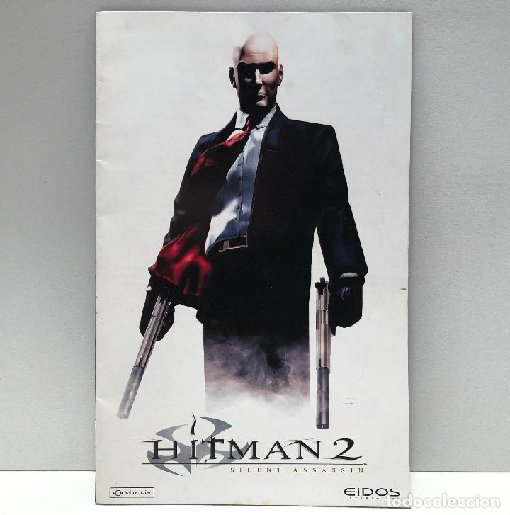 MANUAL HITMAN 2: SILENT ASSASSIN PLAYSTATION 2 PS2 (Juguetes - Videojuegos y Consolas - Sony - PS2)