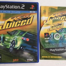 Videojuegos y Consolas: JUICED 1 PLAYSTATION 2 PLAY STATION TWO PS2 KREATEN. Lote 159576474