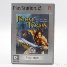 Videojuegos y Consolas: PRINCE OF PERSIA LAS ARENAS DEL TIEMPO PLATINUM PS2 PAL ESP. Lote 159750978