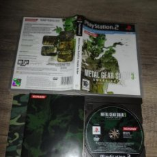 Video Games and Consoles - PS2 METAL GEAR SOLID 3 PAL ESP COMPLETO - 159867418