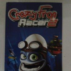 Jeux Vidéo et Consoles: CRAZY FROG RACER 2 (SOLO MANUAL INSTRUCCIONES). Lote 160106702