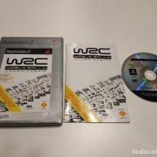 Videojuegos y Consolas: 419- WRC WORLD RALLY CHAMPIONSHIP- PLATINUM - PAL ESPAÑOL - COMPLETO- PS2. Lote 160366542