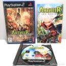 Videojuegos y Consolas: ARTHUR Y LOS MINIMOYS PLAYSTATION 2 PS2. Lote 160516622