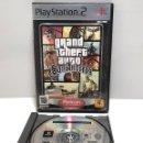 Videojuegos y Consolas: GRAND THEFT AUTO: SAN ANDREAS PLAYSTATION 2 PS2. Lote 160571614