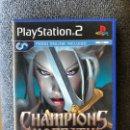 Videojuegos y Consolas: CHAMPIONS OF NORRATH PS2. Lote 160635196