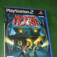 Videojuegos y Consolas: PS2 MONSTER HOUSE - PAL ESPAÑA - PLAYSTATION 2. Lote 160680846