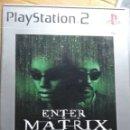Videojuegos y Consolas: ENTER THE MATRIX PLAYSTATION 2. Lote 160696773