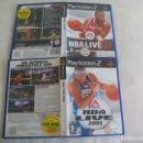 Videojuegos y Consolas: NBA LIVE 2005 Y NBA LIVE 07. VERSIÓN HOLANDESA JUEGOS PARA PLAYSTATION 2. PS2. PLAY STATION. Lote 160727878