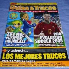 Videojuegos y Consolas: GUIAS & TRUCOS HOBBY CONSOLAS - ZELDA PHANTOM HOURGLASS - PRO 2008. Lote 160865750
