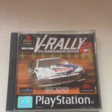 Videojuegos y Consolas: V - RALLY 2 PLAYSTATION 2. Lote 161014072