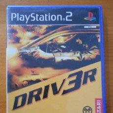 Videojuegos y Consolas: PS2 DRIV3R - DRIVER 3 - PAL ESPAÑA - PLAYSTATION 2 (FÑ). Lote 161138790