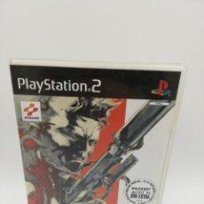Videojuegos y Consolas: METAL GEAR SOLID 2 + DVD EXTRA PS2 . Lote 161891606