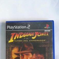 Videojuegos y Consolas: INDIANA JONES Y LA TUMBA DEL EMPERADOR PS2. Lote 162587730