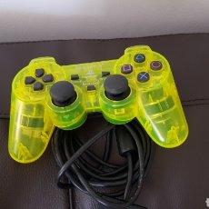 Videojuegos y Consolas - Mando verde fluorescente Sony Playstation dual shock 2 - 162660241