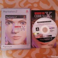 Videojuegos y Consolas: PS2 RESIDENT EVIL CODE VERONICA X. Lote 162706522