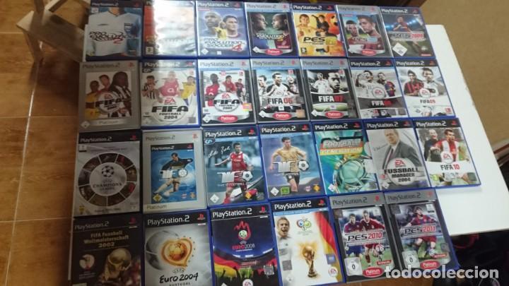 Lote De 27 Juegos De Futbol Para Ps2 En Perfect Vendido En Venta Directa 162932506