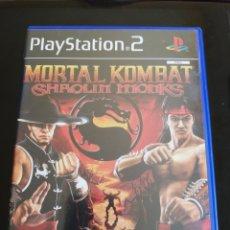 Videojuegos y Consolas: MORTAL KOMBAT SHAOLIN MONKS. Lote 171696333