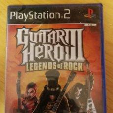 Videojuegos y Consolas: GUITAR HERO III-LEGENDS OF ROCK-PS2-NUEVO. Lote 163788178