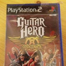 Videojuegos y Consolas: GUITAR HERO-AEROSMITH-PS2-NUEVO. Lote 163788734