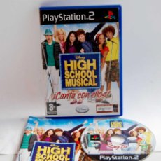 Videojuegos y Consolas: HIGH SCHOOL MUSICAL ¡CANTA CON ELLOS! DE PLAYSTATION 2 CANTA CON ELLOS PSX PLAY STATION. Lote 163972038