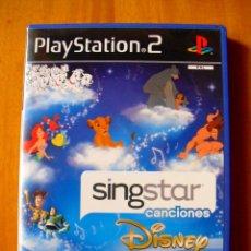 Videojuegos y Consolas: SINGSTAR CANCIONES DISNEY (PLAYSTATION 2). Lote 164567450