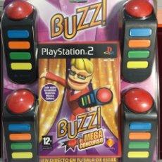 Videojuegos y Consolas: JUEGO PLAYSTATION 2 BUZZ PRECINTADO. Lote 164594853