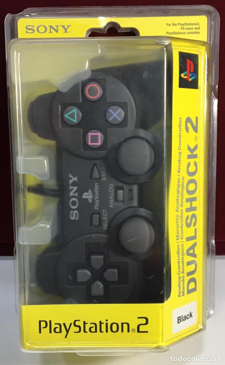 MANDO PLAYSTATION 2 DUAL SHOCK 2 SONY ORIGINAL PRECINTADO (Juguetes - Videojuegos y Consolas - Sony - PS2)