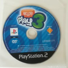 Videojuegos y Consolas: EYE TOY PLAY 3, JUEGO PLAYSTATION 2 PAL. PS2 PLAY STATION. SOLO DISCO. Lote 164780434