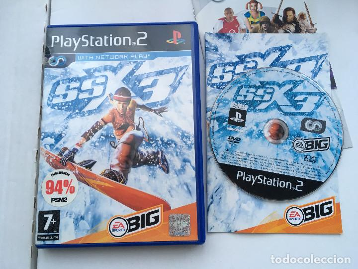 SSX 3 ea sports big ps2 playstation 2 play station two kreaten
