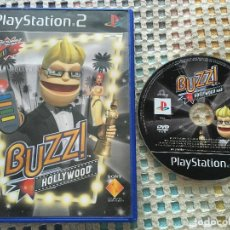 Videojuegos y Consolas: BUZZ HOLLYWOOD BUZZER BUZZERS PS2 PLAYSTATION 2 PLAY STATION TWO KREATEN. Lote 164967550