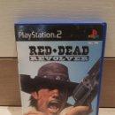 Videojuegos y Consolas: PS2 PLAY STATION 2 RED DEAD REVOLVER PAL ESP. Lote 165602213