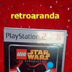Videojuegos y Consolas: JUEGO PLAYSTATION 2 *LEGO STAR WARS* - COMPLETO Y EN MUY BUEN ESTADO.. Lote 165132042