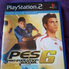 Videojuegos y Consolas: PRO EVOLUTION SOCCER 6 PS2. Lote 165144476