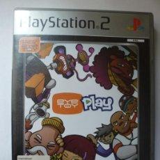 Videojuegos y Consolas: EYETOY PLAY. PLAYSTATION 2. CON INSTRUCCIONES.. Lote 165194902