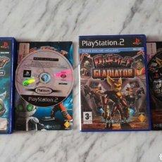 Videojuegos y Consolas: LOTE RATCHET PS2. Lote 165347464