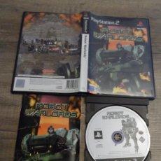 Videojuegos y Consolas: PS2 ROBOT WARLORDS PAL ESP COMPLETO. Lote 165510138