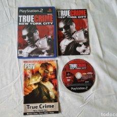 Videojuegos y Consolas: TRUE CRIME NEW YORK CITY PS2. Lote 166177518