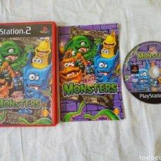Videojuegos y Consolas: BUZZ! JUNIOR MONSTERS PS2. Lote 166178937