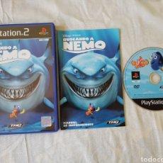Videojuegos y Consolas: BUSCANDO A NEMO PS2. Lote 166182502